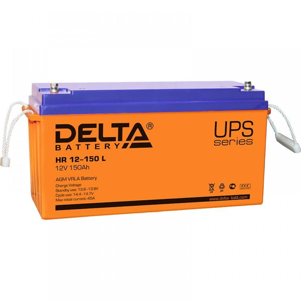 Аккумулятор Delta HR 12-150 L