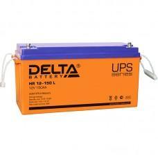 Аккумулятор Delta HR 12-150 L [AGM, 12В, 150Ач]