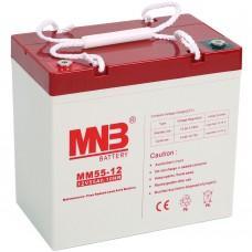 Аккумулятор MNB MM 55-12 [AGM, 12В, 55Ач]