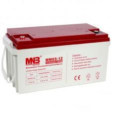 Аккумулятор MNB MM 65-12 [AGM, 12В, 65Ач]