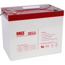 Аккумулятор MNB MM 75-12 [AGM, 12В, 75Ач]