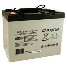 Энергия АКБ 12-55 [AGM, 12В, 55Ач]