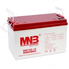 Аккумулятор MNB MM 100-12 [AGM, 12В, 100Ач]