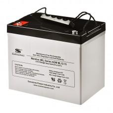 Аккумулятор SunStonePower ML12-75 [AGM, 12В, 75Ач]