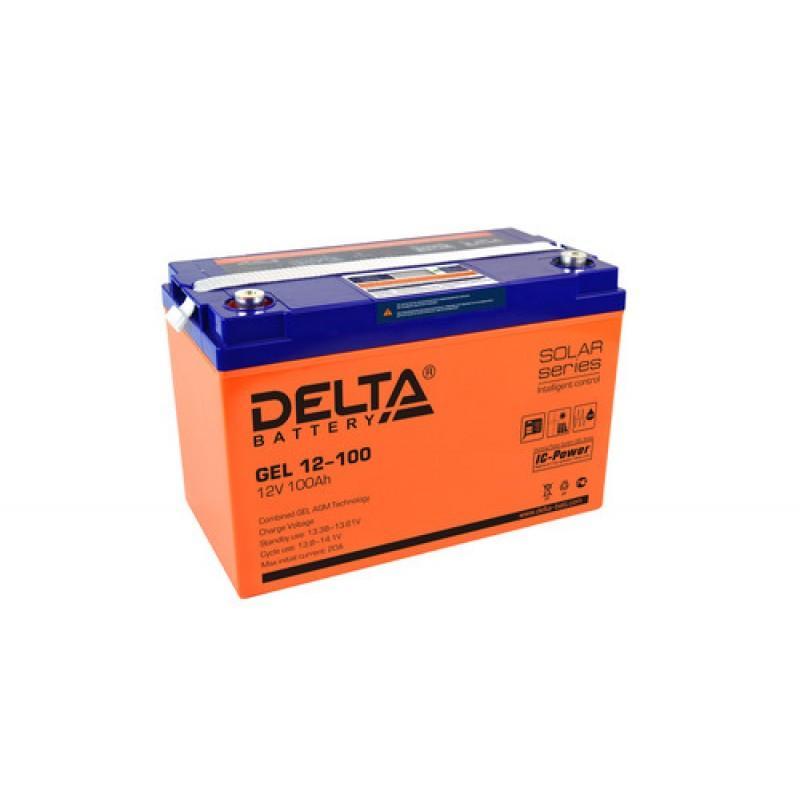 Аккумулятор Delta GEL12-100
