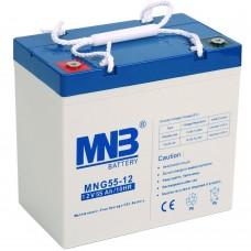 Аккумулятор MNB MNG 55-12 [GEL, 12В, 55Ач]