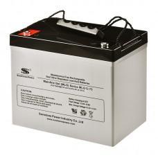 Аккумулятор SunStonePower MLG12-75 [GEL, 12В, 75Ач]
