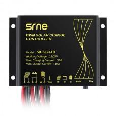 SRNE SR-SL2410 [ШИМ, 10А, 12/24 В, таймер, IP68]