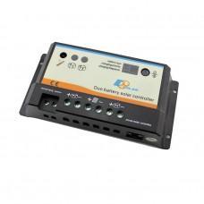 Контроллер заряда EPIPDB-COM [ШИМ, 20А, 12/24В, 2 АКБ]
