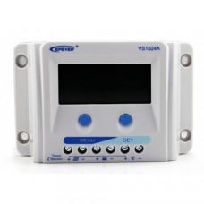 Контроллер заряда VS1024A [ШИМ, 10А, 12/24В, 2 таймера]