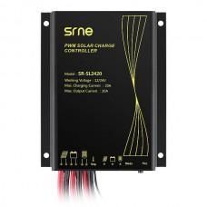 SRNE SR-SL2420 [ШИМ, 20А, 12/24 В, таймер, IP68]