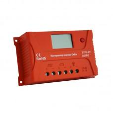DELTA PWM 2420 [ШИМ, 20А, 12/24В, LCD, USB, таймер]