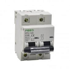 Автоматический выключатель FEEO FPV-125 [С100A, 550VDC, 2P]
