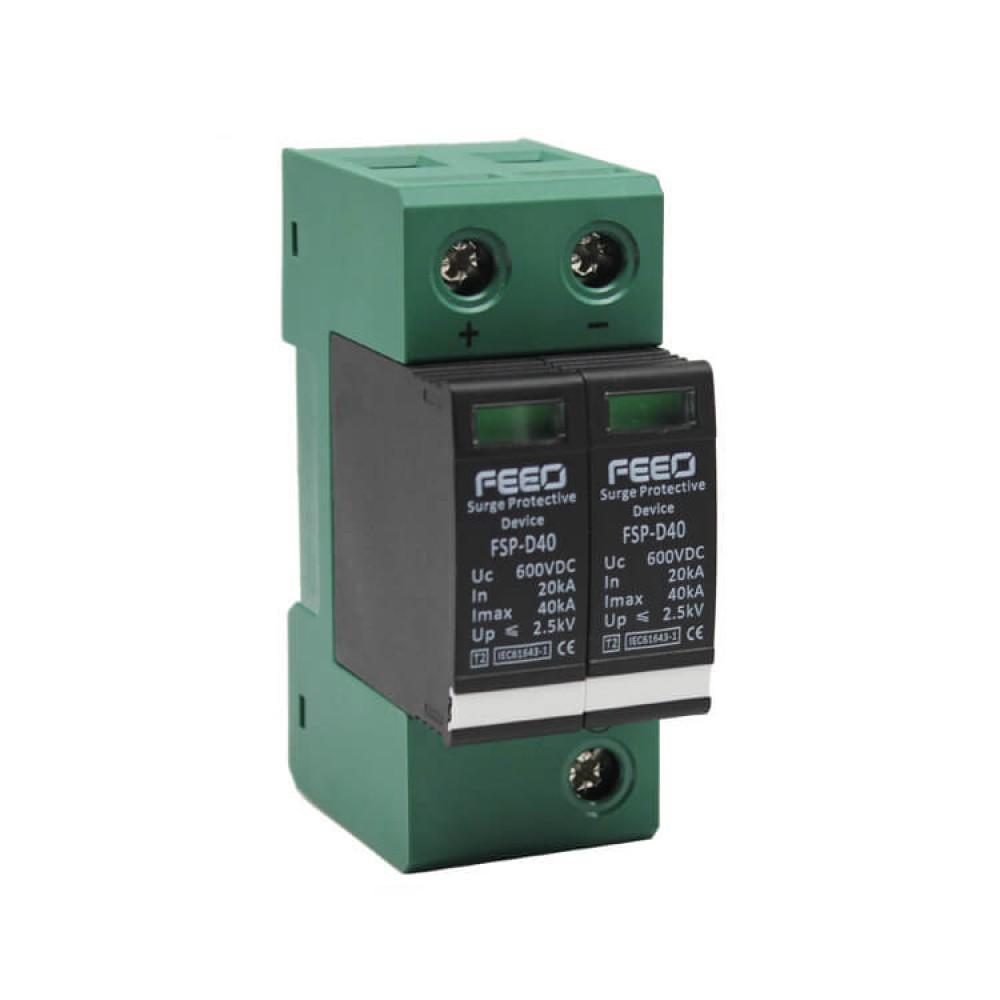 УЗИП постоянного тока FSP-D40 2P 600VDC