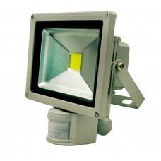 Светодиодный прожектор [20Вт, 12/24В DC, IP65, дат. дв.]