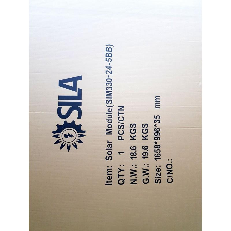 Солнечная батарея SilaSolar SIM330-24-PERC-5BB